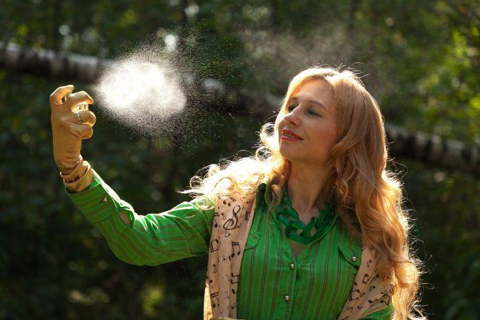 Internet pachnący perfumami