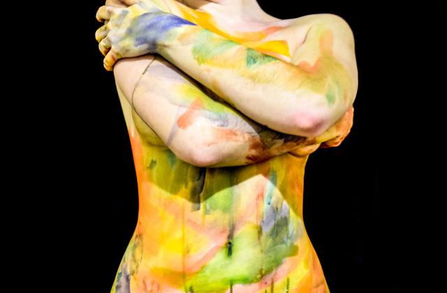 Malowanie ciała, jako metoda arteterapii dla dorosłych - Sensarte